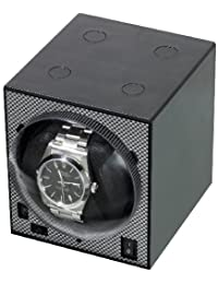 Boxy Brick Single Stackable Watch Winder with Power Supply