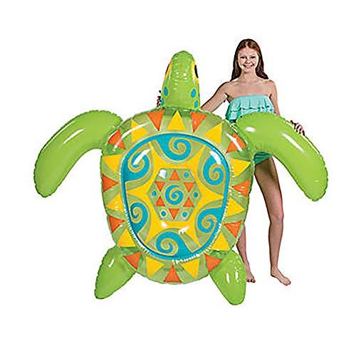 - Fun Express Inflatable Jumbo Sea Turtle Float