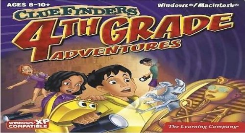 Clue Finders 4th Grade Adventures V2.4 Box (PC/Mac)