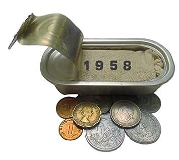 Geburtstag deutsche Münzen von 1958 DDR /& BRD von WallaBundu Geschenk zum 61