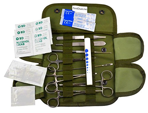 New U.s. Military Supplies Medical Case With Implements