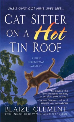 book cover of Cat Sitter On a Hot Tin Roof