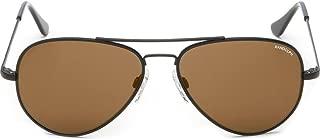 product image for Randolph Engineering Concorde Matte Black Sunglasses | Tan Polarized AR Skull - Black/Tan - 52 mm