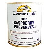 Raspberry Preserves, 10 Cans --- 6 Per Case