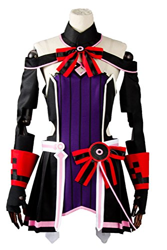 UU-Style Women's Uniform the Movie Ordinal Scale OS Yuna Cosplay Costume Dress Suit (Judas Costume)