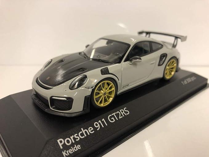 991.2 2018 kreide Minichamps 1:43 Porsche 911 GT2RS