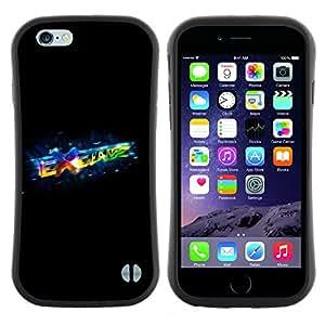 "Hypernova Slim Fit Dual Barniz Protector Caso Case Funda Para Apple Iphone 6 Plus / 6S Plus ( 5.5 ) [Intercambiar""]"