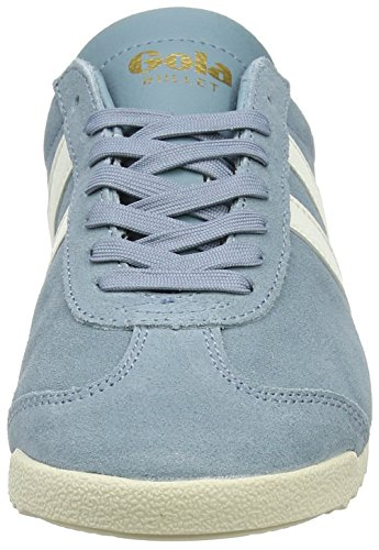 Gola Vrouwen Bullet Hemel Suede Mode Sneaker Blauw / Off-white