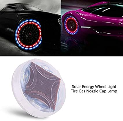 4x LED Dragonfly Car Wheel Tyre Decor Light Bulb Tire Air Valve Stem Cap Lamp