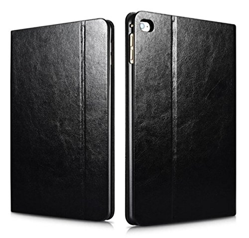 Super Slim Leather Smart Cover for Apple iPad air2(black) - 8