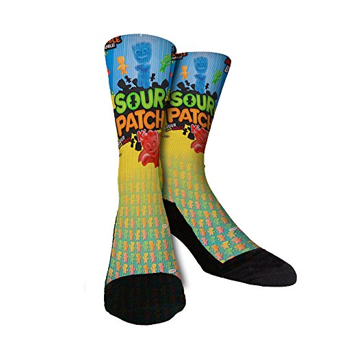 Just Sockz Sour Patch Socks Large -
