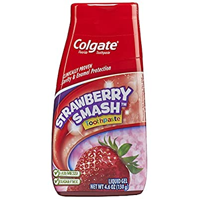 Colgate Kids 2-in-1 Toothpaste and Mouthwash, Strawberry - 4.6 fluid ounce from Colgate-Palmolive Co