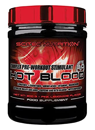 Scitec Nutrition Hot Blood 2.0 - Pink Lemonade 300g