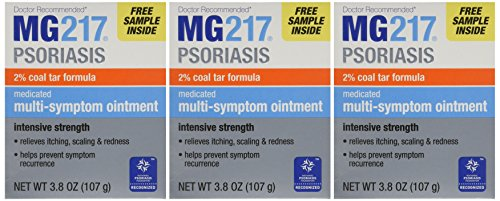 MG217 Medicated Tar Ointment Intensive Strength Psoriasis Treatment, 3.8...