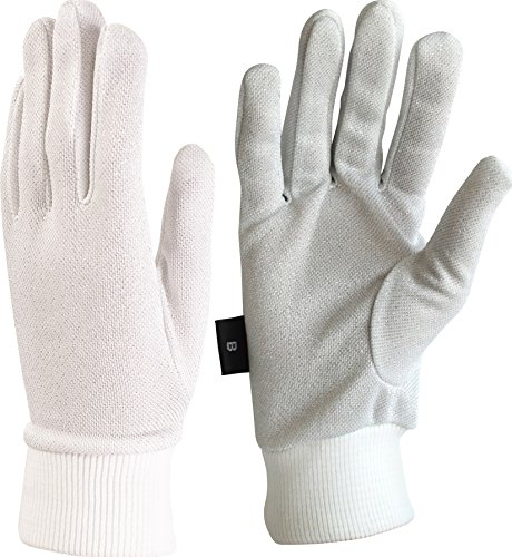 Auclair Men's Lurex Winter Glove Liners: Size B, (Lurex Liner)