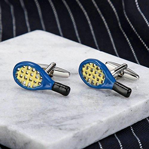 42af932c8b60 Buena Beydodo Gemelos 1 Par Acero Inoxidable Gemelos Camisa de Hombre  Gemelos Boda de Negocios Geomótrico