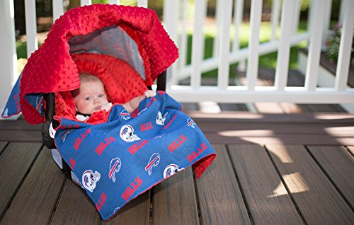 Buffalo Bills Minky Whole Caboodle (Products Nfl Pillow Buffalo Bills)