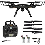 Marketworldcup- 4CH 6-Axis FPV RC Drone Quadcopter Wifi Camera Real Time Video 2 Control Modes
