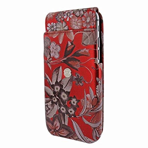 Piel Frama 676 Red Flower iMagnum ESSENCE iMagnum Leather Case for Apple iPhone 6 / 6S / 7 / 8 by Piel Frama (Image #2)