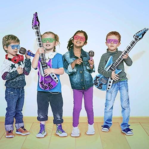 Amazon.com: Kicko juguete inflable para guitarra de 48.0 in ...