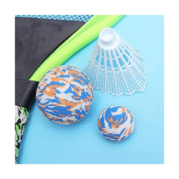 BESPORTBLE Set di Racchette da Tennis Maniglie Resistenti Badminton Racchette da Gioco Giochi da Spiaggia per Bambini… 4 spesavip