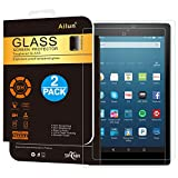 Ailun Screen Protector for Fire HD 8 [2Pack](2018 2017 2016 Release),2.5D Edge Tempered Glass,9H Hardness,Ultra Clear,Anti-Scratch,Case Friendly