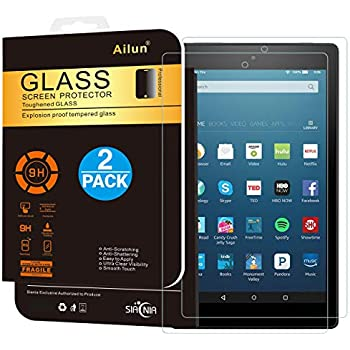 3X HD Clear Screen Protector for Amazon Fire HD 8 Kids Edition- 2017 // 2018