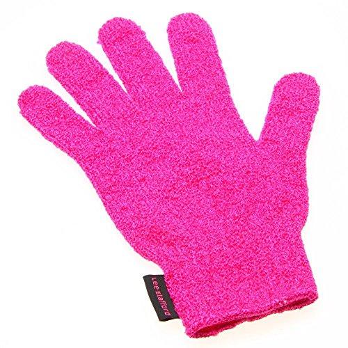 Guante profesional Lee Stafford resistente al calor, protege tus manos mientras peinas con la plancha o las tenazas para cabello; compatible con mano izquierda o derecha, talla u