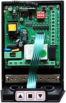 Hiland - Kit universal de centralita para persianas TM5811 con mandos a distancia, para persianas normales y enrollables, funciona con cualquier motor de hasta 1 HP, receptor y mandos incluidos, posibilidad de