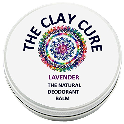 The Natural Deodorant Balm - Lavender - 60g by The Clay C...