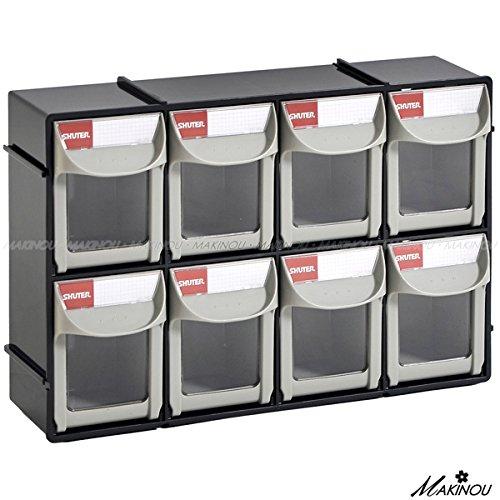 Drawer Plastic Bin Parts Storage Organizer Cabinet House