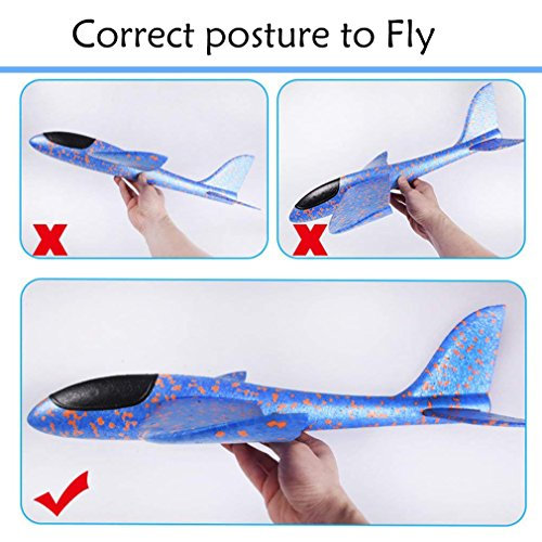 LOFEE Airplane Model Material for Boy,Light Model Plane Multi-Color Manual for 7.8.9 Year Old Toddler,Creative Gifts for Boy Girl Birthday Christmas Children's Day by LOFEE (Image #6)