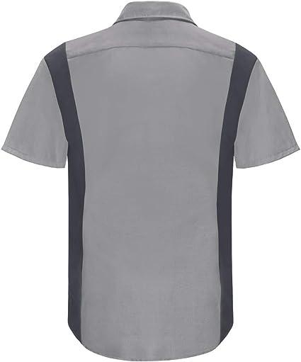 Red Kap Mens Short Sleeve Performance Plus Shop Shirt: Amazon.es: Ropa y accesorios