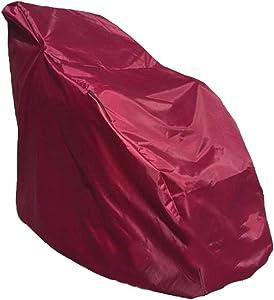 LKXHarleya Waterproof Full Body Shiatsu Massage Chair Cover, Sun Protection Zero Gravity Single Recliner Chair Dustproof Protector Cover, 59x39x55 Inch