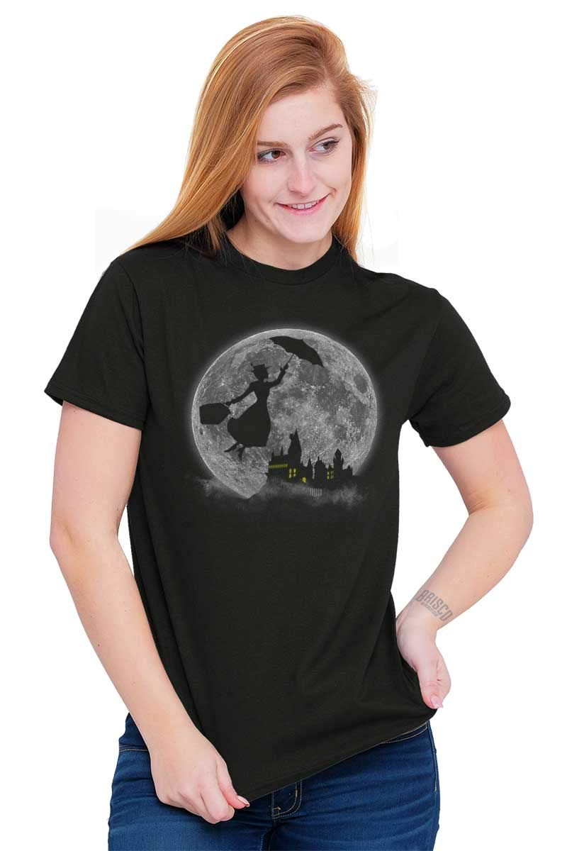 Mary Poppin Walt Disney Funny Shirt Cute Harry Potter Hogwart T-Shirt Tee by Brisco Brands (Image #3)