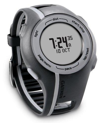 Garmin Forerunner 110 GPS-Enabled Unisex Sport Watch (Black)