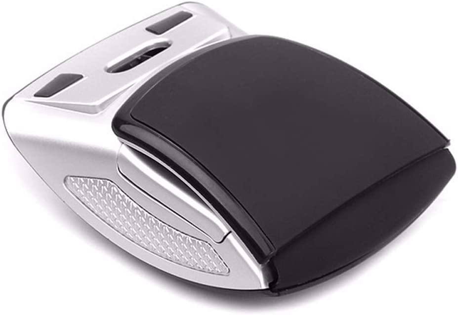 QJGhy Wireless Mouse Foldable Wireless Mouse 2.4G Computer Mouse USB Receiver Mouse for Laptop Computer Desktop Office Gift Mouse
