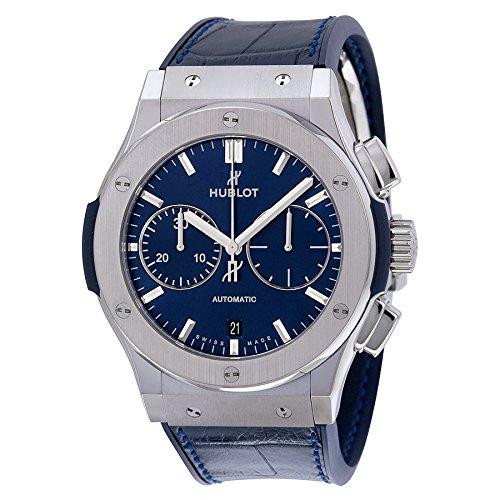 hublot-classic-fusion-automatic-titanium-chronograph-blue-sunburst-dial-45mm-mens-watch