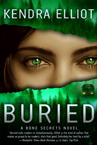 Buried (A Bone Secrets Novel Book 3) by [Elliot, Kendra]