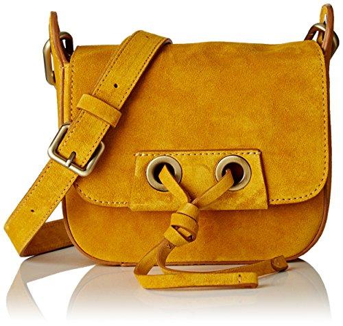 Vanessa Bruno 213, Borsa tote donna giallo Jaune (Bouton D'Or) 17x54x15 cm (W x H x L)