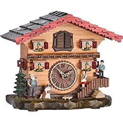 Trenkle Quartz Cuckoo Clock Swiss house with music TU 487 QM