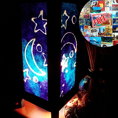 Blue Moon Star Lamp Shades for Table L