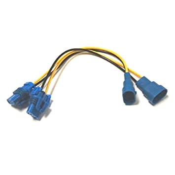 51Cyl0z04QL._SY355_ amazon com 9006 9006xs male and female wire harness automotive male to female wiring harness at reclaimingppi.co