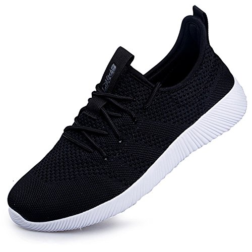 YOLE Unisex Couple Fashion Sneakers Running Tennis Shoes Lace Up  Lightweight Athletic Breathable Sports Walking Shoes 4d10c16562f