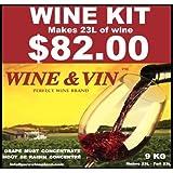 WINE&VIN Cabernet -Merlot RED Wine KIT Makes 23L