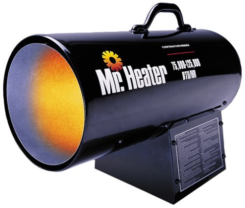 Mr. Heater MH125FAV 125,000-BTU Forced-Air Propane Heater (Ceiling Mount Gas Heater compare prices)