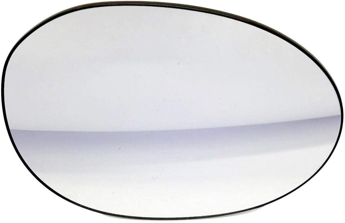 Miroir Glace Verre De R/étroviseur Droit C/ôt/é Passager 8151HW Pour Aygo C1 107 2005