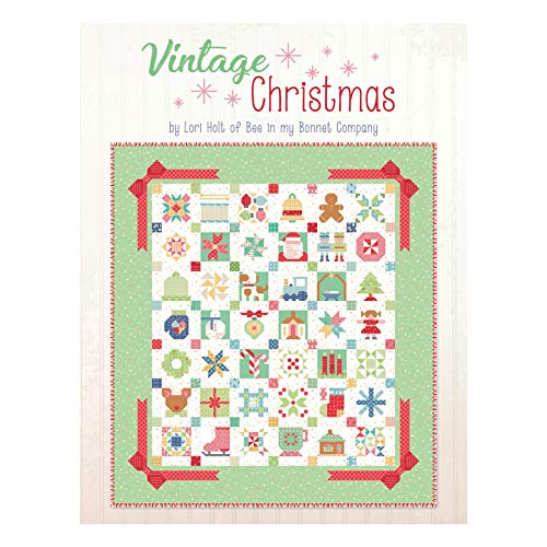 Riley Blake Designs Lori Holt Vintage Christmas Book Multi ()