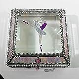 Ballerina 5X5 SILVER Jewelry Box