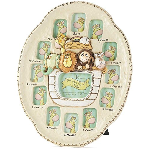 Dicksons Noah's Ark First Year Photo Frame (House First Picture Frame)